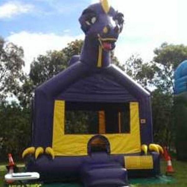 Dinosaur Jumping Castle