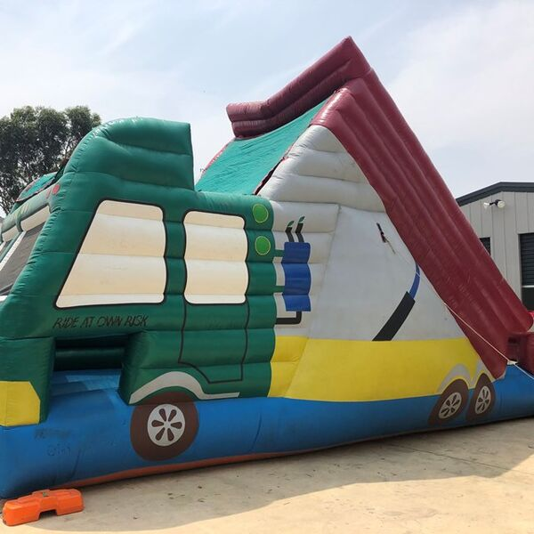 Magic Truck Slide Jumping Castle including supervision