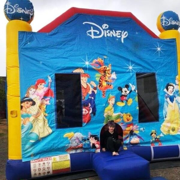 Mega Jumps - Disney Combo Jumping Castle