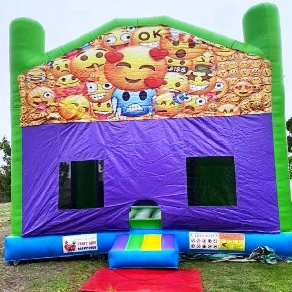 Mega Jumps - Emoji Jumping Castle