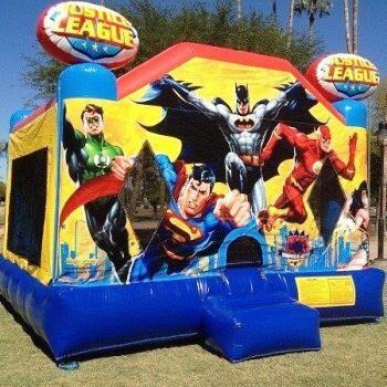Mega Jumps - Justice League Jumping Castle