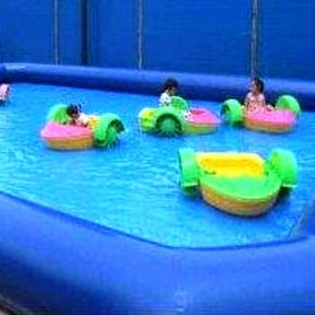 Mega Jumps - Paddle Boats with Pool