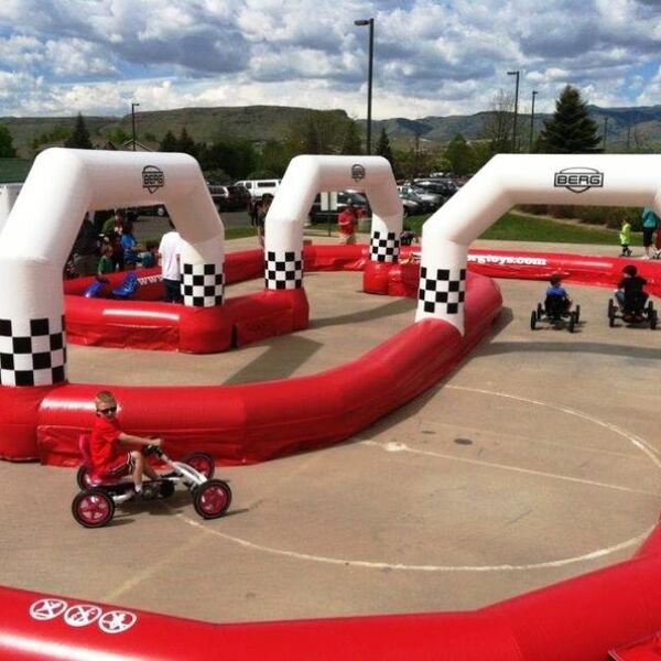 Mega Jumps - Pedal Go Karts with Track