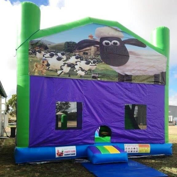 Mega Jumps - Shaun the Sheep Jumping Castle