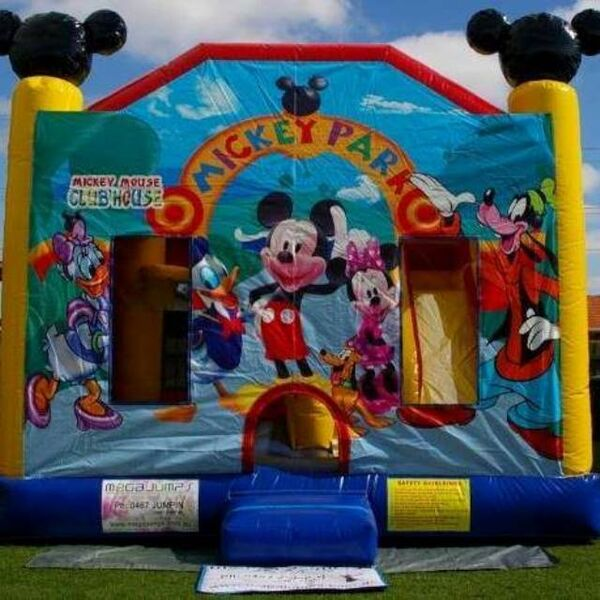 Mickey Park Combo Jumping Castle