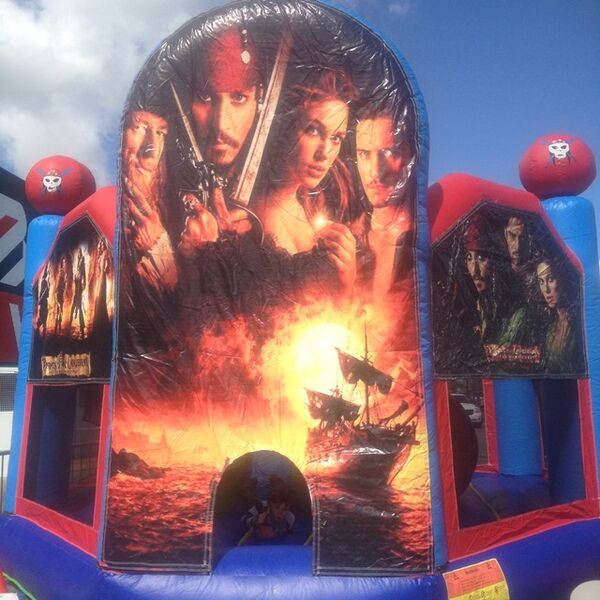 Pirates of the Caribbean Tiny Tots Jumping Castle