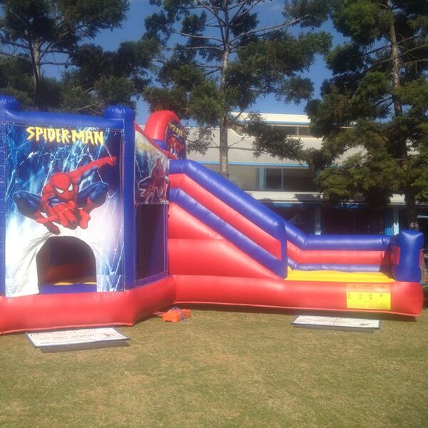 Spiderman Combo Jumping Castle