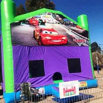 Cars 6 x 6 Combo Jumping Castle