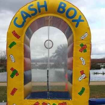 Cash Box Jumping Castle including supervision
