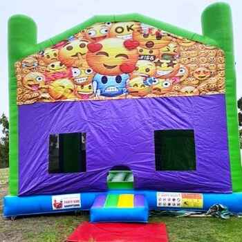 Emoji  6 x 6 Combo Jumping Castle
