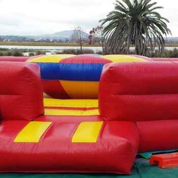 Gladiator Castle Jumping Castle including supervision