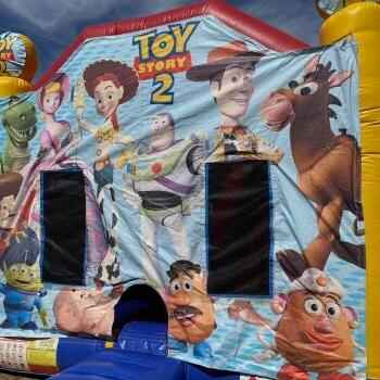 Toy Story Tiny Tots Jumping Castle