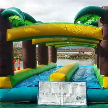 Water Slide  &  Slip N Splash Slide including supervision