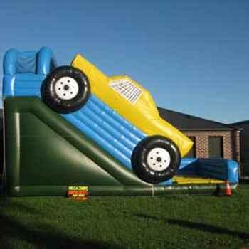 Monster Truck & Large Slide including supervision