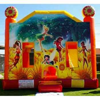 Tinkerbell Combo Jumping Castle